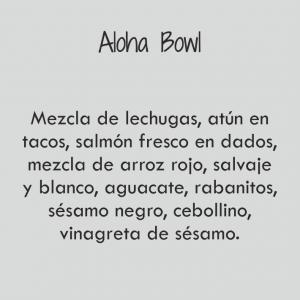 Aloha Bowl / 411 cal