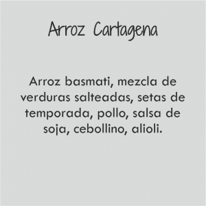 Arroz Cartagena Bowl / 492 cal