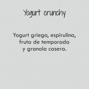 Super yogurt crunchy / 353 cal