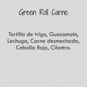 Green Roll de Carne / 410 cal
