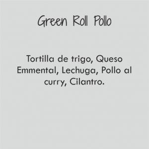 Green Roll de Pollo / 516 cal