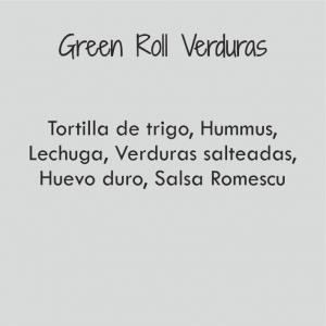 Green Roll de Verdura / 479 cal